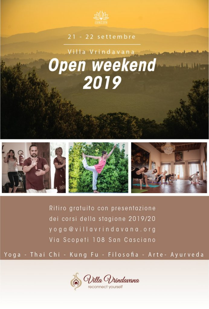 open day 2019 yoga villa vrindavana